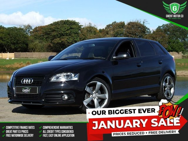 2012 12 AUDI A3 BLACK EDITION 2.0 TDI <br>**** WAS £5,999 - NOW £5,499! ****