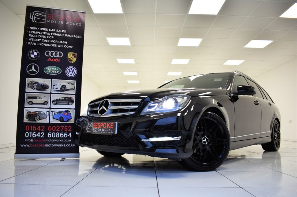 USED 2013 13 MERCEDES-BENZ C CLASS C220 2.1 CDI BLUEEFFICIENCY AMG SPORT PLUS