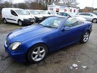 2002 MERCEDES-BENZ SLK 3.2 SLK320 2d 218 BHP £2995.00
