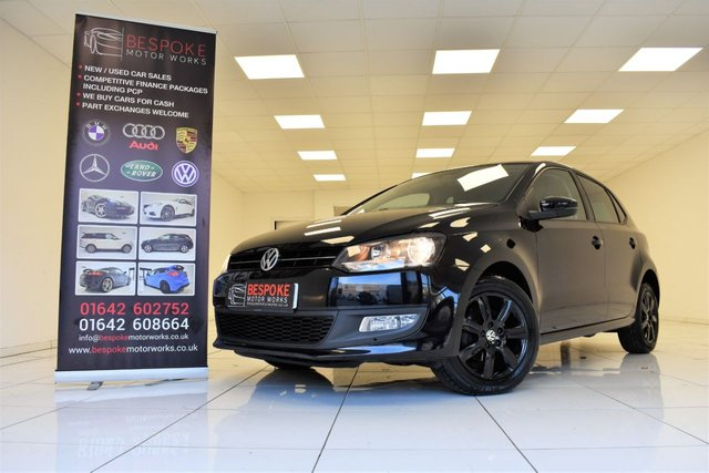 2013 63 VOLKSWAGEN POLO 1.4 MATCH EDITION 5 DOOR