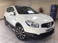 2012 NISSAN QASHQAI 1.6 N-TEC PLUS IS DCIS/S 5d 130 BHP £8495.00