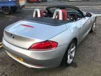 USED 2015 15 BMW Z4 2.0 Z4 SDRIVE20I ROADSTER 2d 181 BHP 12 MONTHS COMPREHENSIVE PARTS AND LABOUR WARRANTY AND 12 MONTHS BREAKDOWN COVER AT SCREEN PRICE