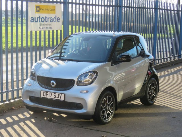 USED 2017 17 SMART FORTWO 1.0 PRIME 2dr Auto Leather Pan roof Cruise Heated seats Alloys Finance arranged Part exchange available Open 7 days