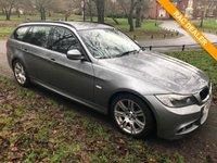 USED 2011 11 BMW 3 SERIES 2.0 320D M SPORT TOURING 5d 181 BHP BMW M SPORT D BLK LEATHER