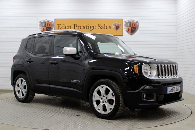 USED 2015 65 JEEP RENEGADE 1.4 LIMITED 5d 138 BHP *NAV*F/S/H*CLIMATE*CRUISE*