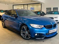USED 2015 65 BMW 4 SERIES GRAN COUPE 3.0 435D XDRIVE M SPORT GRAN COUPE 4d 309 BHP BM PERFORMANCE STYLING+SAT NAV