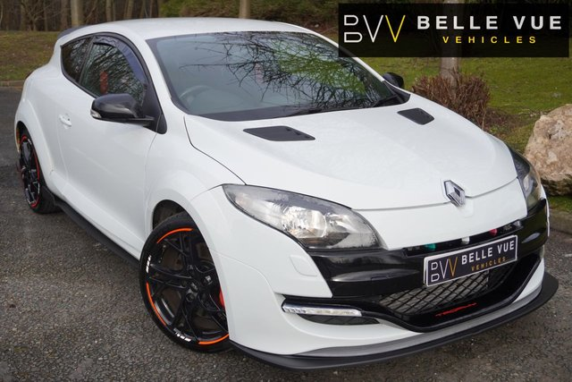 USED 2012 12 RENAULT MEGANE 2.0 RENAULTSPORT 16V  3d 265 BHP *19'' ALLOYS, LEATHER, SERVICE HISTORY!*