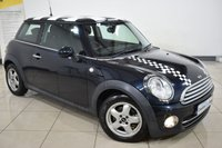 2009 MINI HATCH COOPER 1.6 COOPER D 3d 108 BHP