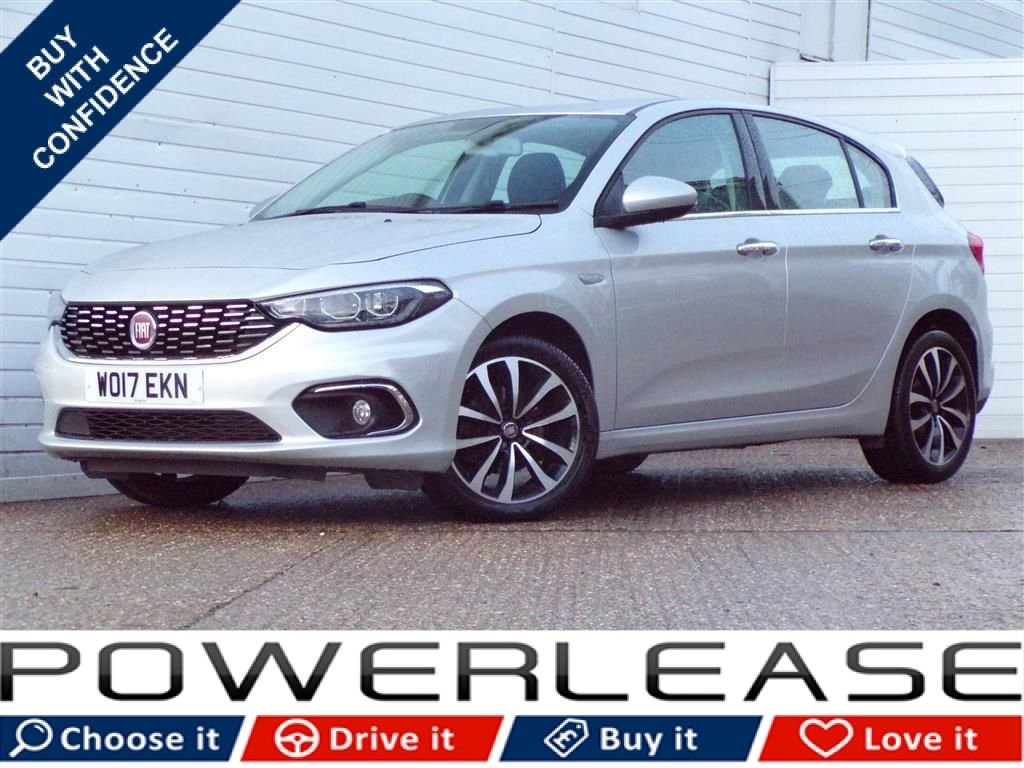 USED 2017 17 FIAT TIPO 1.2 MULTIJET LOUNGE 5d 95 BHP CHOICE OF 6 AVAILABLE IN STOCK