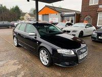 2008 AUDI A4 4.2 S4 QUATTRO 5d 339 BHP £7990.00