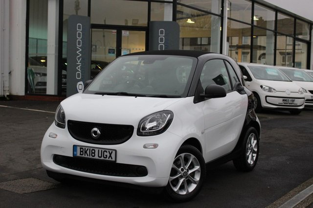 USED 2018 18 SMART FORTWO 1.0 PASSION 2d 71 BHP