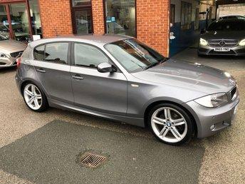 2011 BMW 1 SERIES 2.0 118D M SPORT 5d 141 BHP £5495.00