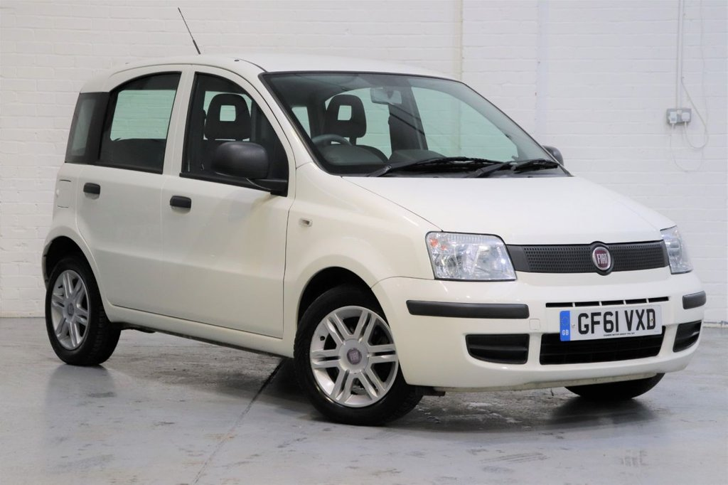 USED 2012 61 FIAT PANDA 1.2 MYLIFE 5d 69 BHP Low Mileage + Parking Aid