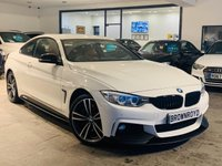 USED 2015 15 BMW 4 SERIES 3.0 430D XDRIVE M SPORT 2d 255 BHP BM PERFORMANCE STYLING+PLUS PK