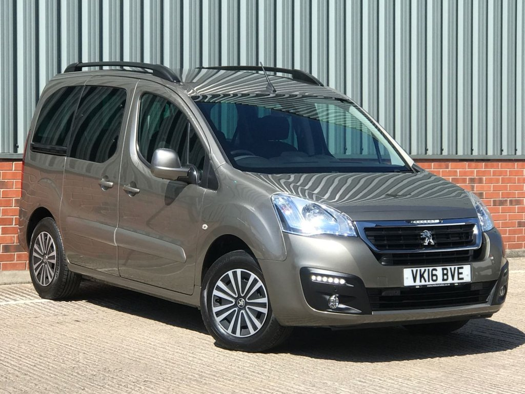 USED 2016 16 PEUGEOT PARTNER 1.6 BLUE HDI TEPEE ALLURE 5d 100 BHP EXCELLENT CONDITION AND FANTASTIC VALUE