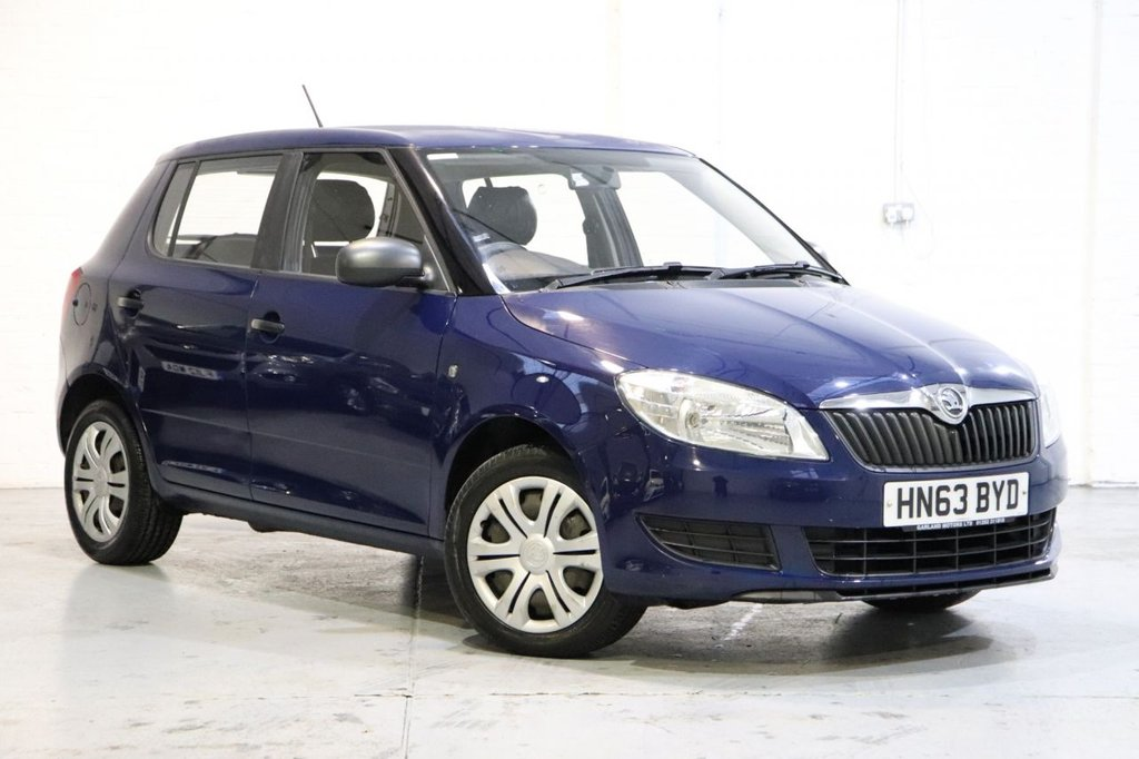 USED 2013 63 SKODA FABIA 1.2 S 12V 5d 60 BHP 1 Owner From New + Recently Serviced