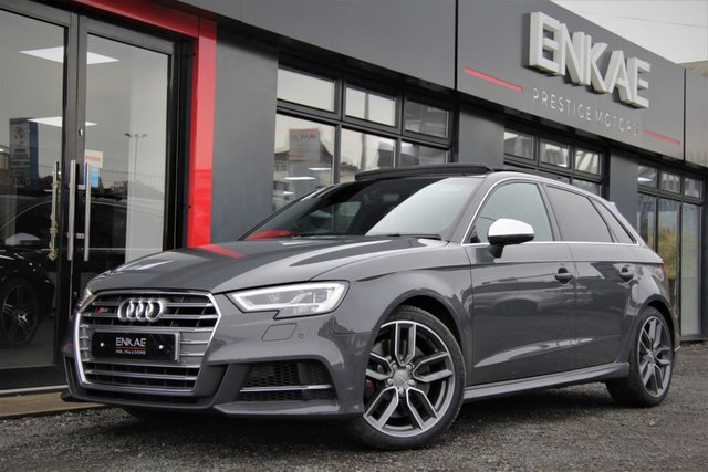2016 66 AUDI S3 2.0 S3 SPORTBACK QUATTRO MASSIVE SPEC HUGE OPTIONS