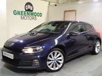 USED 2015 15 VOLKSWAGEN SCIROCCO 2.0 TDI BlueMotion Tech GT Hatchback 3dr