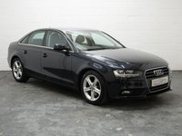 USED 2014 64 AUDI A4 2.0 TDI ULTRA SE TECHNIK 4d 161 BHP 1 OWNER + 6 SERVICES + FULL LEATHER + SAT NAV