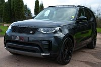 USED 2017 17 LAND ROVER DISCOVERY 3.0 TD V6 HSE Luxury Auto 4WD (s/s) 5dr NAV+PAN ROOF+REAR DVD+360 CAM.