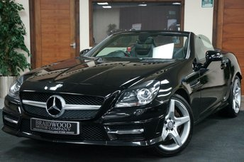 2014 MERCEDES-BENZ SLK 1.8 SLK200 BLUEEFFICIENCY AMG SPORT 2d 184 BHP