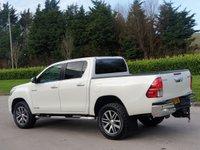 USED 2018 68 TOYOTA HI-LUX 2.4 INVINCIBLE X 4WD D-4D DCB 4d 147 BHP