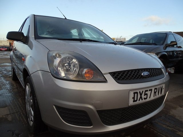 USED 2007 57 FORD FIESTA 1.4 STYLE CLIMATE NO ADVISORIES 6 YEARS