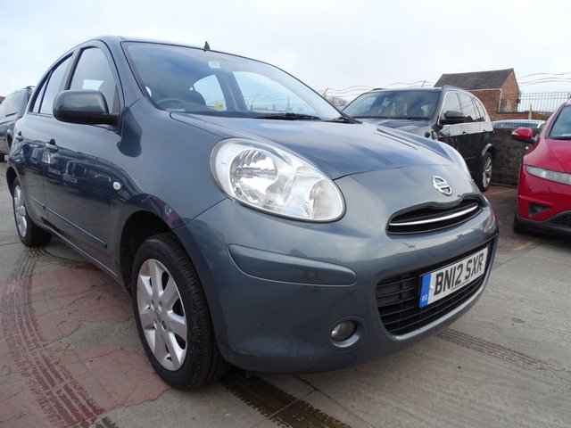 USED 2012 12 NISSAN MICRA 1.2 ACENTA 5d 79 BHP GREAT SERVICE HISTORY