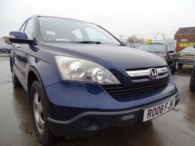 USED 2008 08 HONDA CR-V 2.2 I-CTDI SE 5d 139 BHP DRIVES VERY WELL
