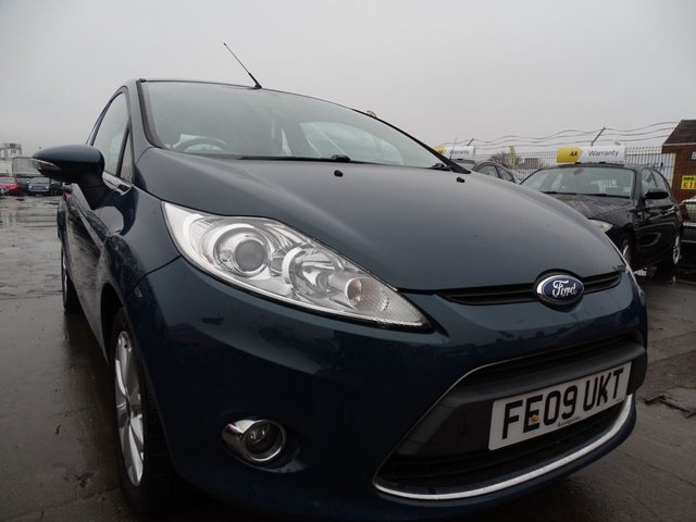 USED 2009 09 FORD FIESTA 1.6 ZETEC TDCI 3d GOOD SERVICE HISTORY