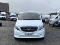 USED 2016 16 MERCEDES-BENZ VITO 1.6 111 CDI FACELIFT LONG LWB LWB, FACELIFT, ONE OWNER FROM NEW, ONLY 19,000 MILES