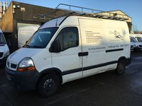 USED 2006 56 RENAULT MASTER 2.5 DCI MM33 MWB SHR 120BHP. ROOF-RACK. + LADDER. BARGAIN. PX TO CLEAR. ROOF-RACK + LADDER. GOOD RUNNER. PX