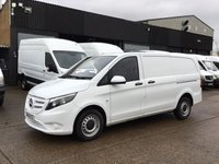 USED 2016 16 MERCEDES-BENZ VITO 1.6 111CDI LONG 114BHP. LOW 36K MLS. COLOUR CODED. PX COLOUR CODED. 1 OWNER. LOW 36K MILES. LOW FINANCE. PX