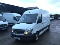 USED 2016 66 MERCEDES-BENZ SPRINTER 2.1 314 CDI MWB HIGH ROOF 140BHP EURO6. LOW 47K MILES. PX EURO 6. ULEZ COMPLIANT. LOW 47K MILES. FINANCE. PX