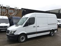 USED 2017 67 MERCEDES-BENZ SPRINTER 2.1 314CDI MWB 140BHP EURO6. MERC WARRANTY 10/2020. PX EURO 6 ULEZ. MERC WARRANTY 24.10.2020. LOW FINANCE. PX