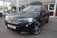 2014 BMW X4 3.0 XDRIVE30D M SPORT 4d 255 BHP £18990.00