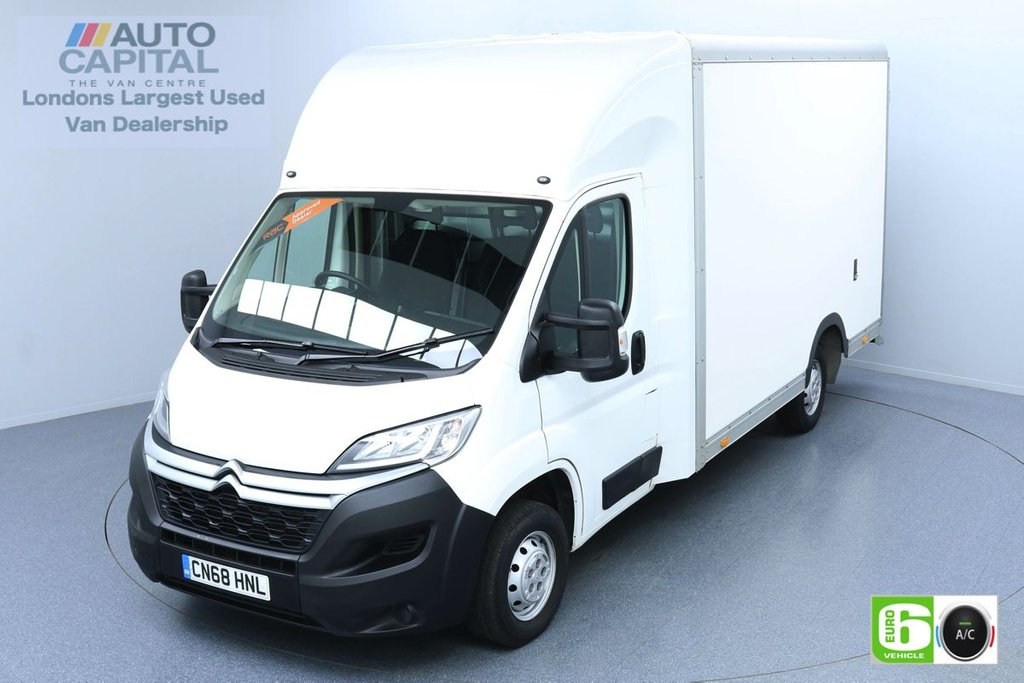 USED 2018 68 CITROEN RELAY 2.0 35 Bluehdi 161 BHP LWB Euro 6 Low Emission Finance Packages Available | Air Con | Low-Floor Luton