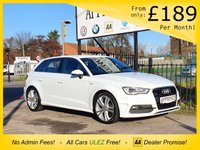 USED 2016 65 AUDI A3 2.0 TDI S LINE NAV 3d 182 BHP SAT NAV, AUDI MUSIC INTERFACE BLUETOOTH CONNECTION, AUDI DRIVE SELECT FUNCTION, PARKING SENSORS, VOICE COMMAND FUNCTION, AUTO STOP/START & HEATED ELETRIC WING MIRRORS