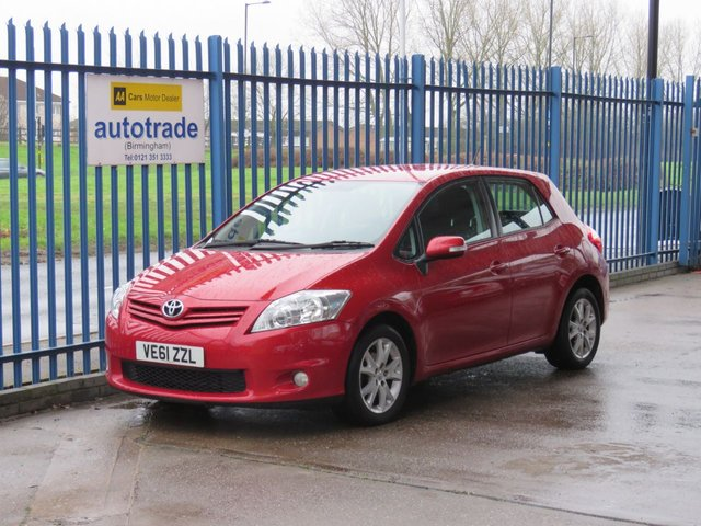 USED 2012 61 TOYOTA AURIS 1.6 TR VALVEMATIC  5dr Cruise Air con DAB Alloys Toyota History- Climate Control-Alloy Wheels-Cruise Control