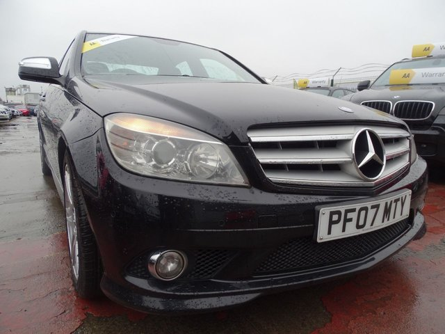 USED 2007 07 MERCEDES-BENZ C CLASS 2.1 C220 CDI SPORT 4d TONS OF SERVICE HISTORY