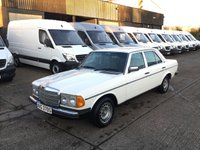 USED 1978 S MERCEDES-BENZ 230 2.3 W123 Automatic Saloon. Round Light Style Headlights. Very Collectable. W123 classic. MOT Exempt. Massive service history. PX