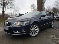 USED 2012 12 VOLKSWAGEN CC 2.0 GT TDI BLUEMOTION TECHNOLOGY DSG 4d 138 BHP 2KEYS+NAV+LEATHER+PRIVGLASS+18ALLOYS+CLIMATE+PARKING+DIGITCOMP+