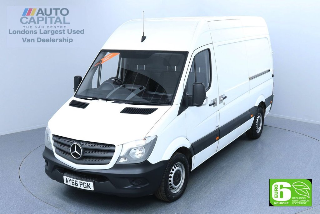 USED 2016 MERCEDES-BENZ SPRINTER 314 CDI MWB 140 BHP EURO 6 ENGINE  REAR DOOR LADDER FITTED