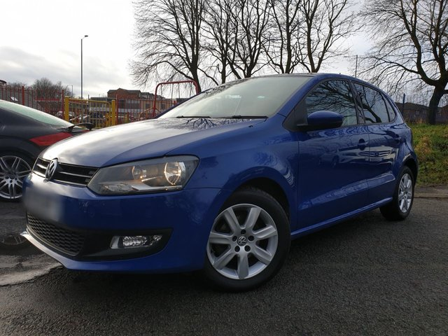 USED 2013 13 VOLKSWAGEN POLO 1.2 MATCH EDITION TDI 5d 74 BHP 2KEYS+PANROOF+PRIVGLASS+ALLOY+AIRCON+PARKING+20TAX+MEDIA+ELECS+
