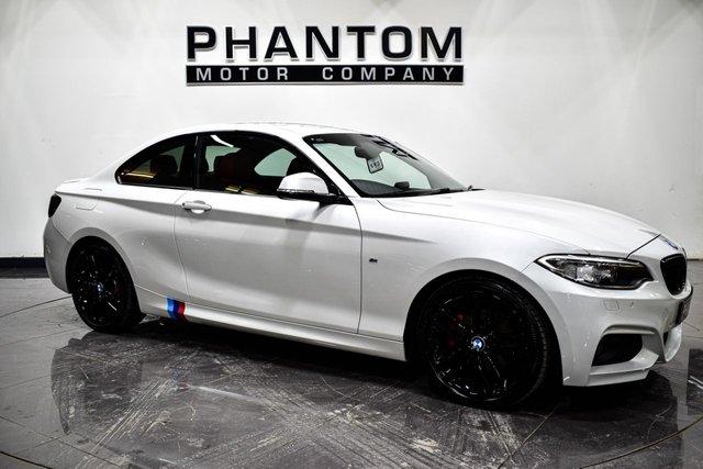 USED 2014 W BMW 2 SERIES 2.0 220D M SPORT 2d 181 BHP