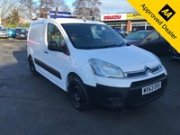 USED 2013 63 CITROEN BERLINGO 1.6 625 ENTERPRISE L1 HDI 74 BHP IN WHITE WITH 131000 MILES, GREAT SERVICE HISTORY, AND ONLY 2 OWNERS. THIS IS AN IDEAL WORK VAN WITH NO VAT Approved Cars are pleased to offer this stunning 2013 Citroen Berlingo 1.6 625 Enterprise L1 HDI with 131000 miles. This is an ideal work van with NO VAT and has been well looked after and maintained and comes with a great service history. This work van comes well equipped with DAB radio, FM/AM, central locking, electric windows and mirrors and much much more. For more information or to book a test drive please call our sales team on 01622 871555.