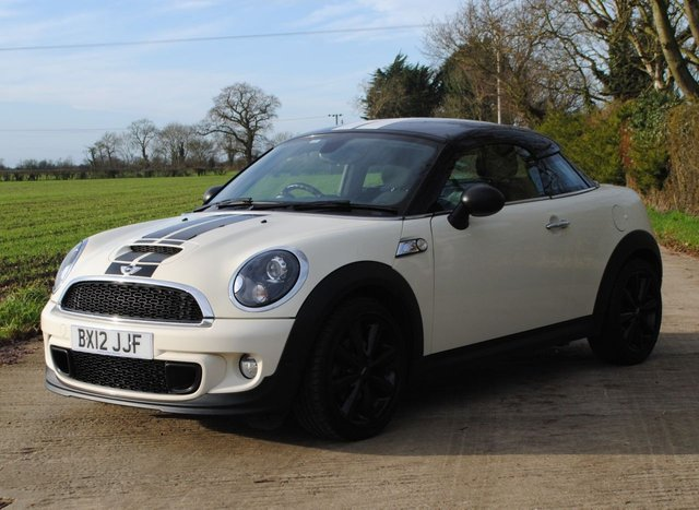2012 12 MINI COUPE 2.0 COOPER SD 2d 141 BHP