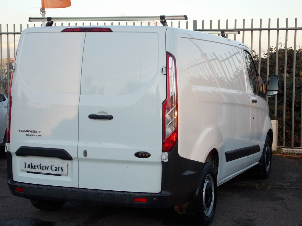USED 2015 65 FORD TRANSIT CUSTOM 2.2 270 LR P/V 99 BHP