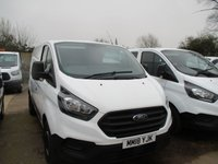 USED 2018 18 FORD TRANSIT CUSTOM 2.0 Tdci Turbo Diesel 300  L1 H1 105 BHP 2018 18 new shape ford transit custom 300 turbo diesel ford warranty applies until 2021