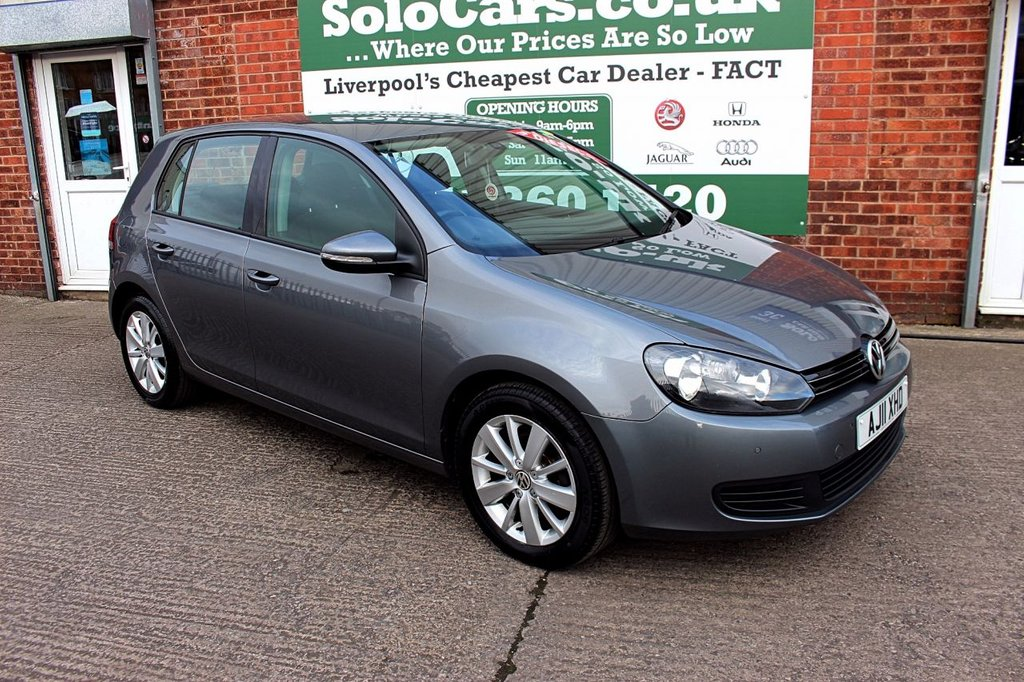 USED 2011 11 VOLKSWAGEN GOLF 1.6 MATCH TDI BLUEMOTION TECHNOLOGY 5d 103 BHP +TWO OWNERS +OCT MOT +SERVICED